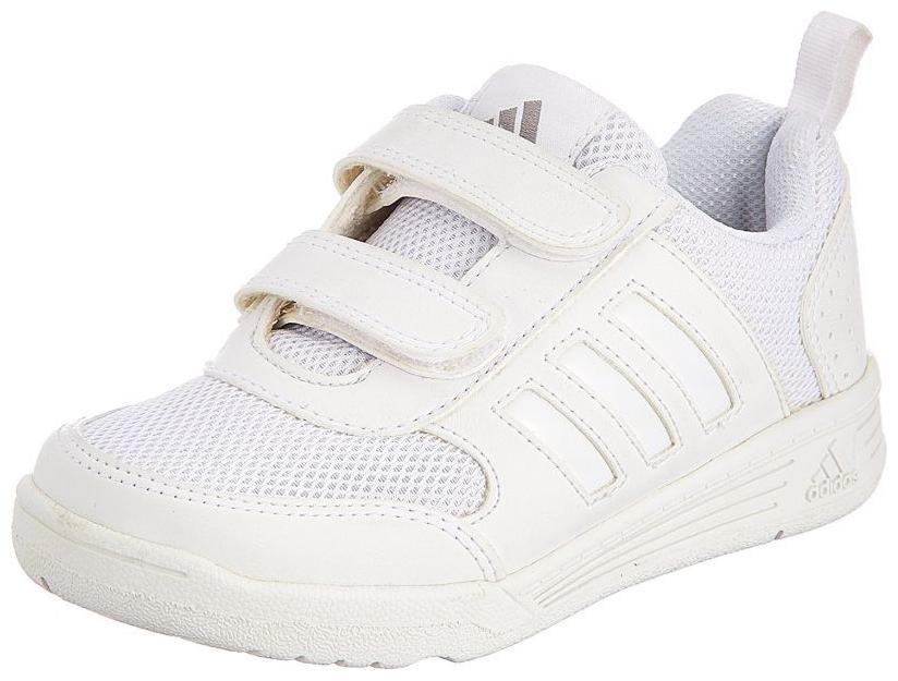 Adidas White Boys School Shoes
