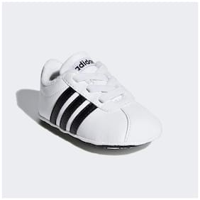 Adidas White Casual Shoes For Infants
