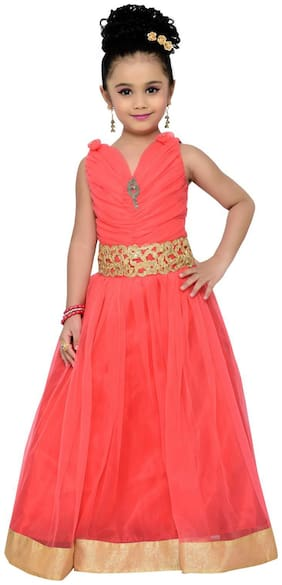 Adiva Girl's Party Wear Gown