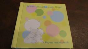 Adorable Goffengel Workshop Baby Memory Book Keepsake Album Pop Up