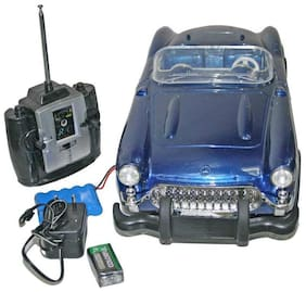 Adraxx 1:8 Scale European vintage Style Car Toy Gift With Remote Control For Age 8 Years