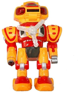 Adraxx Disc Shooting Warrior Android Robot Toy