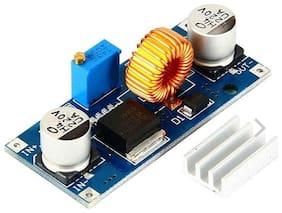 AdraXx XL4015 DC-DC Step Down 5A Adjustable Power Supply Module LED with Heatsink