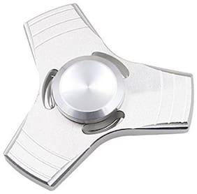 Aeoss Ufo Zinc Tri-Spinner Fidget Toy, Silver