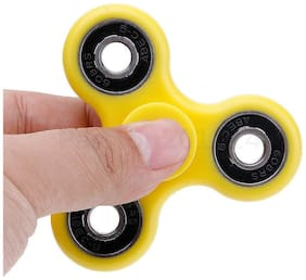 AeossTri-Spinner Fidget Toy With Premium Hybrid Ceramic Bearing (YELLOW)