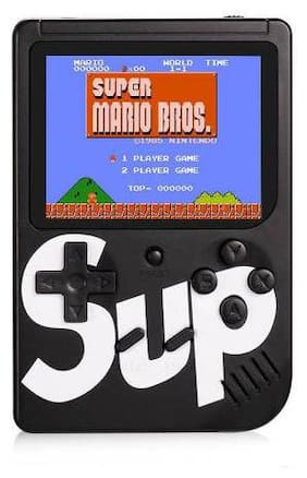 Afrodive SUP 400 in 1 Retro Game Box Console Handheld Video Game (black)