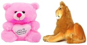 AGNOLIA Multi Teddy Bear - 30 cm
