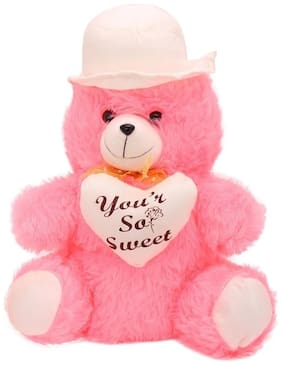 AGNOLIA Pink Teddy Bear - 30 cm