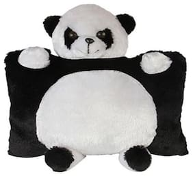 Agnolia Panda Pillow, Black and White - 35 cm