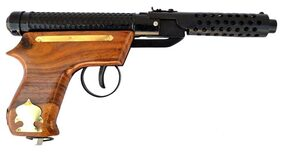AIR GUN (BULLET) MARK 2 (100 PELLETS FREE) NO LICENCE REQUIRED - WOODEN