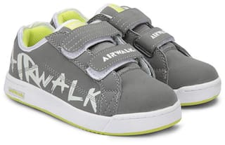 f6717ca16 Buy AIRWALK Grey Casual shoes for boys Online at Low Prices in India ...