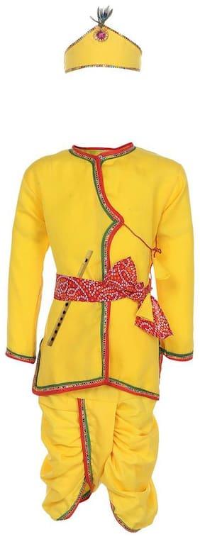 AJ Dezines Baby Boy Krishna Dress Set