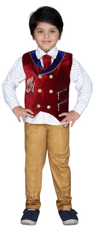 AJ Dezines Kids Party Wear Clothing Set for Boys