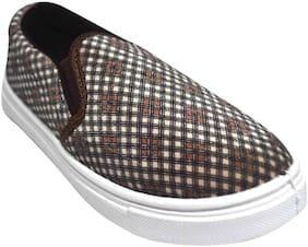 Ajanta Grey Girls Casual Shoes