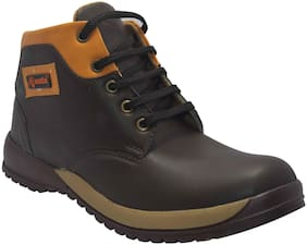 Ajanta Black Boys Boots