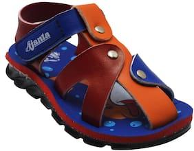 Royalz Blue Sandals For Infants