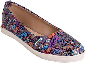 Ajanta Multi-color Ballerinas For Girls