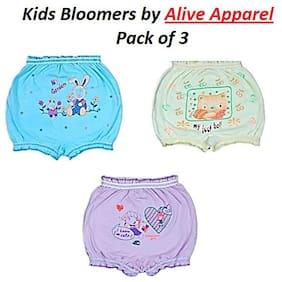 Alive Apparel Bloomer For Boys - Multi , Set of 3