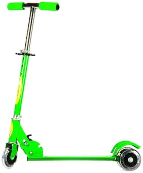 All India Handicraft Green Scooter