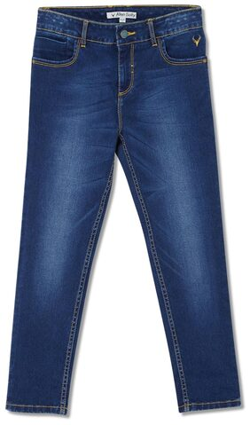 Allen Solly Boy Solid Jeans - Blue
