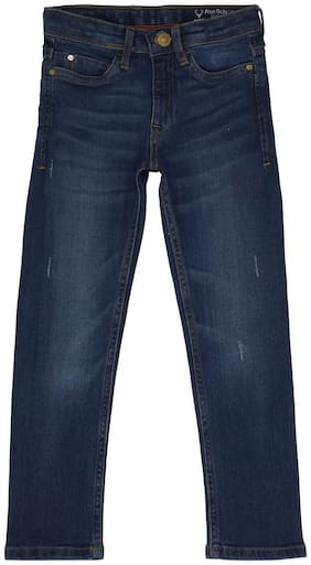 Allen Solly Navy Jeans For Boys