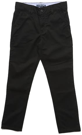 Allen Solly Boy's Regular fit Jeans - Black