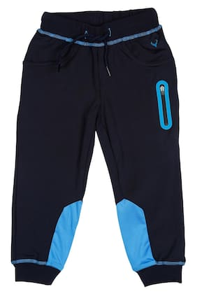 Allen Solly Boy Polyester Track pants - Blue