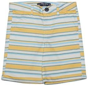 Allen Solly Yellow Bermuda