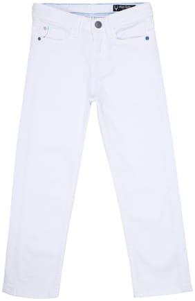 Allen Solly White Jeans White