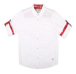 Allen Solly Boy Blended Solid Shirt White