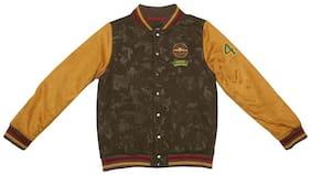 Allen Solly Boy Polyester Printed Winter jacket - Multi