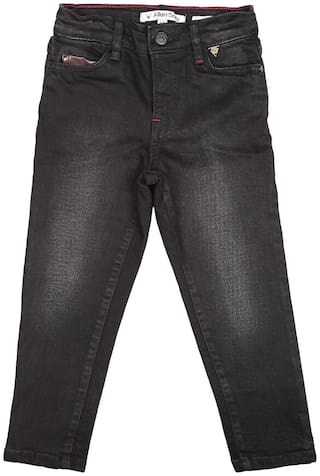 Allen Solly Boy's Slim fit Jeans - Black