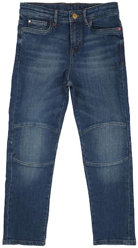 Allen Solly Cotton Blend Jeans Blue Color For Boys