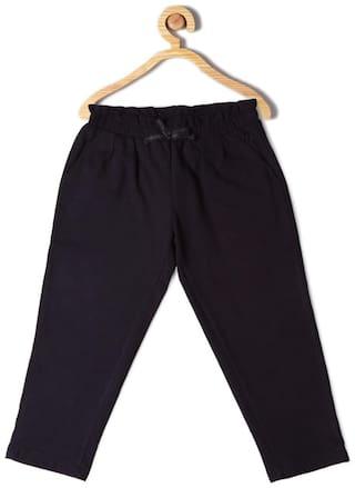 Allen Solly Boy Cotton Track pants - Black