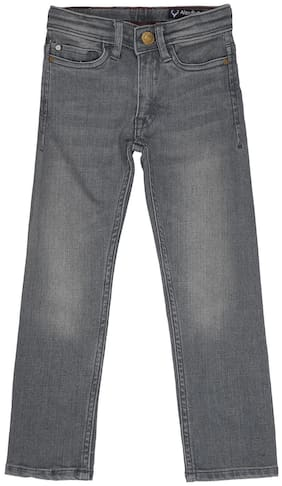 Allen Solly Grey Jeans For Boys