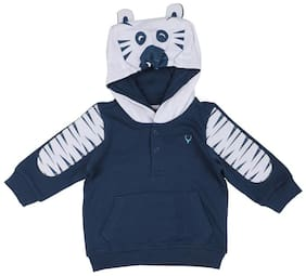 Allen Solly Baby boy Cotton Printed Sweatshirt - Blue