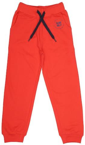Allen Solly Boy Cotton Shorts - Orange