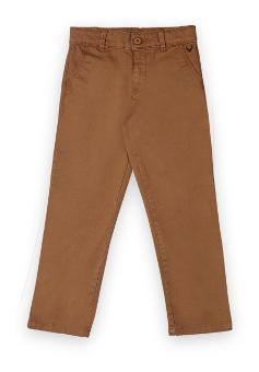 Allen Solly Boy Solid Trousers - Brown