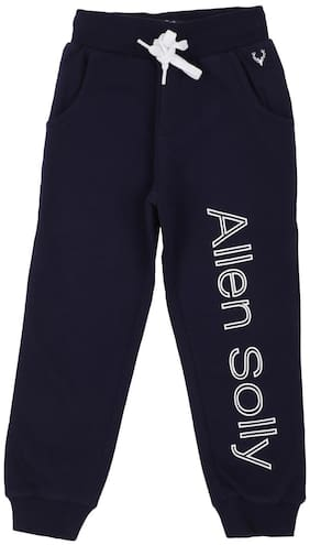 Allen Solly Boy Cotton Track pants - Blue