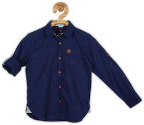 Allen Solly Cotton Regular Blue Shirts