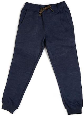 Allen Solly Boy Blended Track pants - Blue