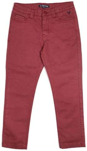 Allen Solly Boy's Regular fit Jeans - Red