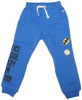 Allen Solly Boy Cotton Track pants - Blue