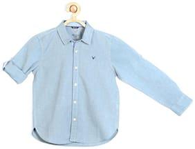 Allen Solly Blue Shirt Blended