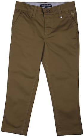 Allen Solly Boy's Regular fit Jeans - Green