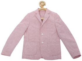 Allen Solly Boy Blended Solid Ethnic jacket - Pink