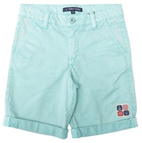 Allen Solly Turquoise Shorts