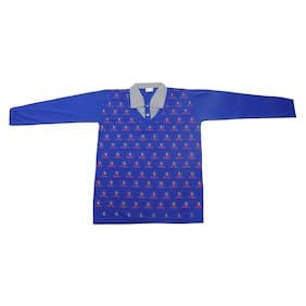 AMAANEE BY REDSON Boy Cotton blend Printed T-shirt - Blue