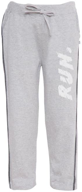 American-Elm Boy Cotton Track pants - Grey