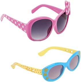 Amour UV Protected Combo for Kids Sunglasses -Multi